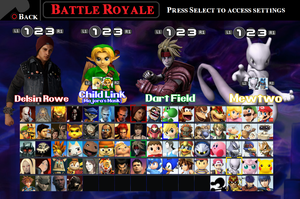PlayStation X Nintendo Roster by LeeHatake93