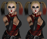 Harley Blowing a kiss by Frankstar86