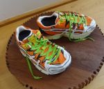 Running Shoe Cakes by FifiCake