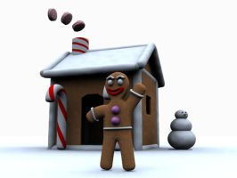Its the GingerBread Man by WickedAwsome