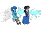 angel and lapis by LUClLLE