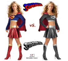 Supergirl vs. Supergirl by TheSnowman10