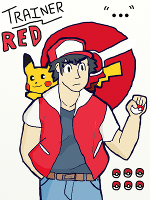 PKMN Trainer: Red by WalkerP