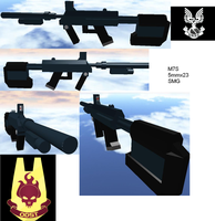 Roblox: M7S SMG by radar651