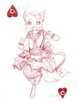 Queen of Hearts by JelliedFox