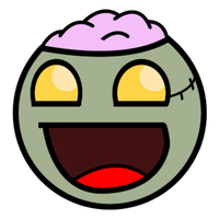 Zombie Smiley by darkrchaos
