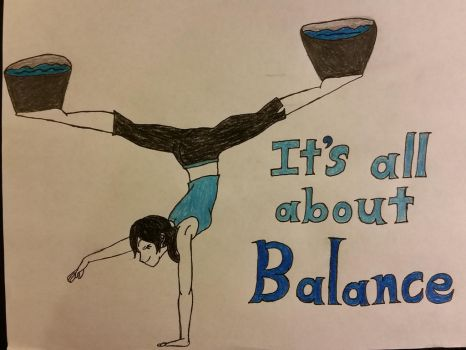 It's all about Balance. by dcb2art