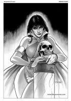 Vampirella 21 Cover Art by FabianoNeves