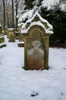 Winter tombstone stock 06 by Malleni-Stock