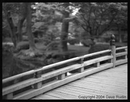 Wooden Bridge, Kanazawa, Japan by DaveR99