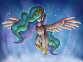 Princess Sunbutt by LuminousDazzle