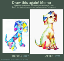 Meme: Before and After 9 by Gamibrii
