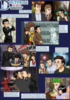 Truthy TARDIS Collage 1-3 by ErinPtah