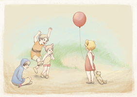 winnie the pooh by squishimiss