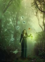 The Green Forest by maiarcita
