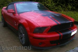 Red Shelby Cabrio  Mustang2 by blueMALOU