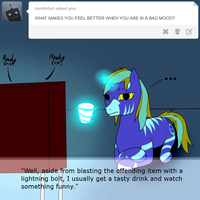 AskBrontes #2~ What makes better when in bad mood? by TheTimeLordMarshal