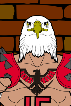 Aryan Eagle 01 by lordcrotch
