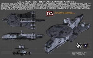 CEC IGV-55 surveillance vessel ortho [New] by unusualsuspex
