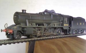 LMS Stanier 8F Class by Crystal-Eclair