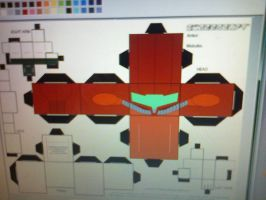 Making of Samus Cubee 4 by clownmasterfunk