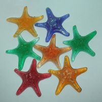 Resin Star Fish by bluepaws21