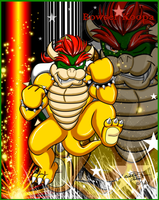 .:Superstar Bowser:. by Bowser2Queen
