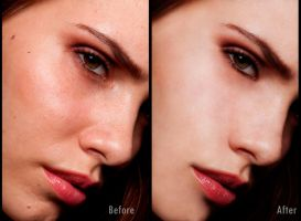 1st retouch by LEGENDANONYMOUS