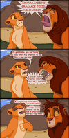 Simba tries singing by TLK-Peachii