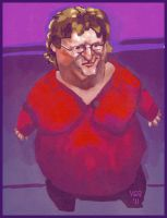Gabe Newell by victorroa