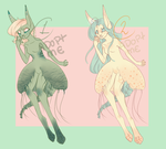 OPEN Abyss Hare Adoptables by harecandy
