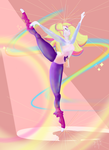 Rose + Pearl = Rainbow Quartz by InTheDeepEnd