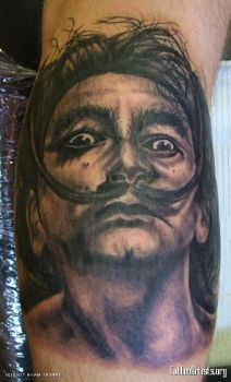 Dali Tattoo by rtoriginals