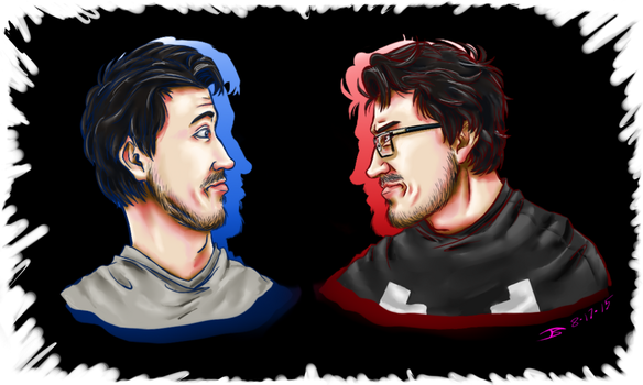 With or Without the G...?| Markiplier by SimplEagle