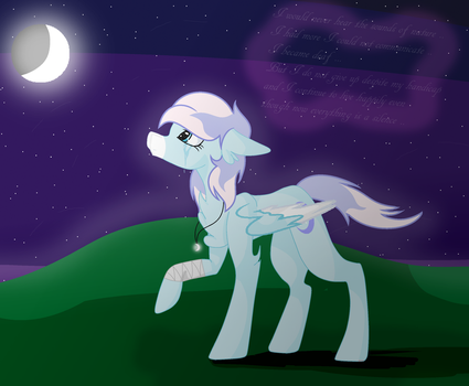 :Moon Belle: The world is now a silence... by SoarinRainbowDash3