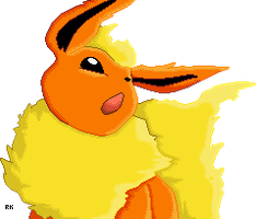 Flareon by RapidashKing
