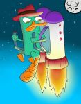 Perry The Platypus by WhiteTigeRrr25