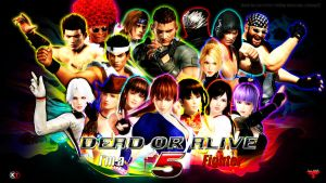 DEAD OR ALIVE 5 ~ All Characters + Jann Lee by Leifang12