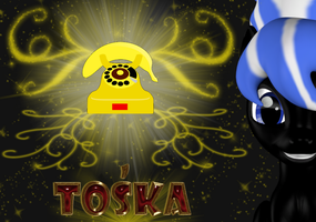 Toska Card (Commision) by Neros1990