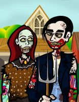American Gothic Tattoo by mikehampton