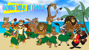 Madagascar Crew - Going Wild in Hawaii by BennytheBeast