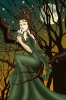 Queen of the Earth: Yavanna by Norloth