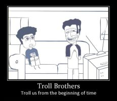 Troll Brothers by Lopez-The-Heavy