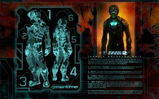 Dead Space 2 Armour by KaneNash
