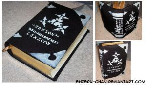 KH cosplay prop: Lexicon by Enzeru-chan