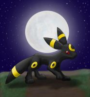 Umbreon -trade- by Firequill