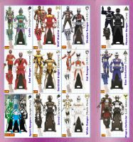 Power Rangers SUPER Megaforce Keys - Extra by LavenderRanger
