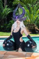Pool Party Syndra by Kinpatsu-Cosplay