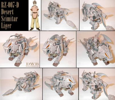 Zoids Desert Scimitar Liger by Bang-Doll-SSI