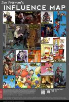 Jon Freeman's influence map by JonFreeman
